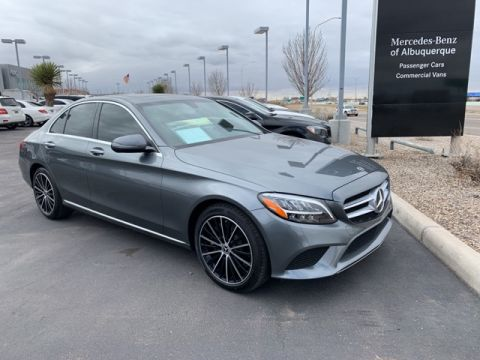 Certified Pre-Owned 2019 Mercedes-Benz C 300 RWD 4D Sedan