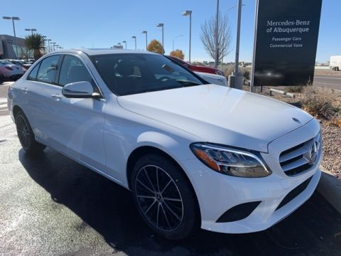New 2019 Mercedes-Benz C 300 4MATIC® 4D Sedan