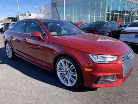 Pre-Owned 2018 Audi A4 2.0T Premium quattro 4D Sedan