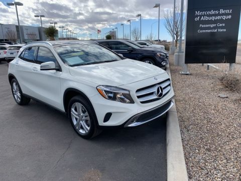 Certified Pre-Owned 2016 Mercedes-Benz GLA 250 4MATIC® SUV