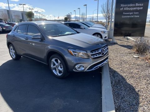 New 2019 Mercedes-Benz GLA 250 4MATIC® 4D Sport Utility