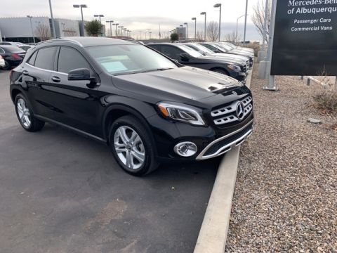 Certified Pre-Owned 2018 Mercedes-Benz GLA 250 4MATIC® SUV