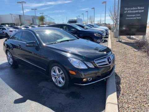 Pre-Owned 2011 Mercedes-Benz E 350 RWD COUPE