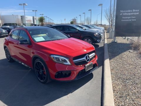 Certified Pre-Owned 2018 Mercedes-Benz AMG® GLA 45 SUV 4MATIC® SUV