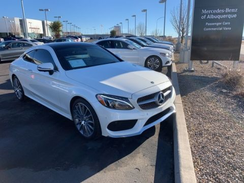 Certified Pre-Owned 2018 Mercedes-Benz C 300 Sport RWD COUPE