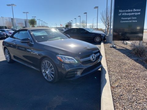 New 2019 Mercedes-Benz C 43 AMG® 4MATIC® 2D Convertible