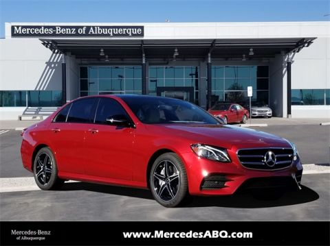 New 2019 Mercedes-Benz E 300 4MATIC® 4D Sedan