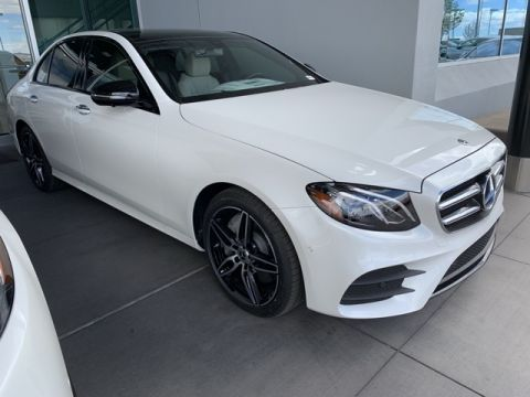 New 2019 Mercedes-Benz E 450 4MATIC® 4D Sedan