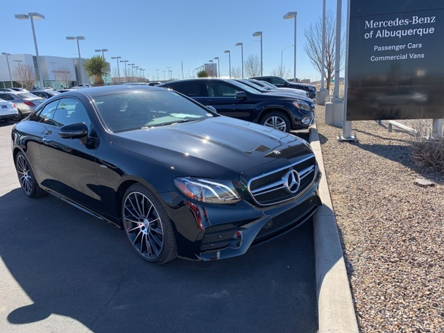 New 2019 Mercedes Benz E Class Amg E 53 Coupe With Navigation