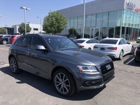 Pre-Owned 2017 Audi Q5 3.0T Premium Plus